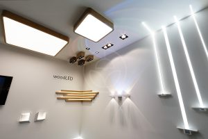 Trilum lighting - difuse and spot lamps made of wood