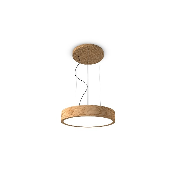 woodLED ROUND hang 600