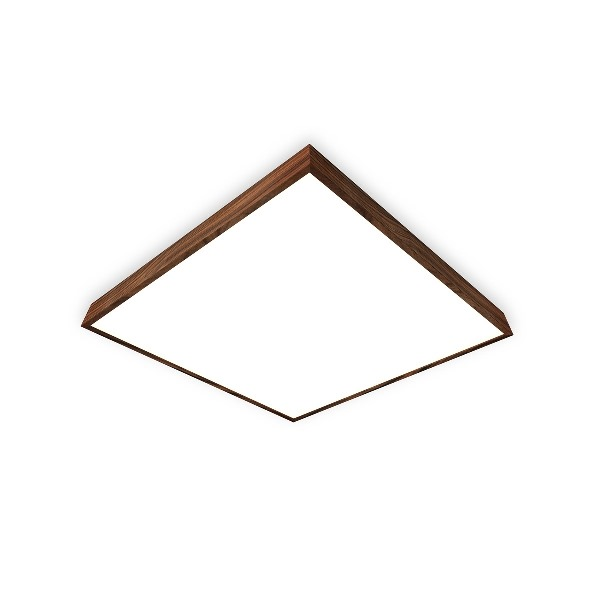 Trilum square wooden lamp woodLED SLOPE 1200 Palisander Santos
