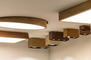 Trilum Trnava vystavuje drevené sveitidlá na výstave Nábytok a bývanie 2016