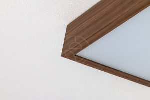 Trilum's wooden LED lamp with Evonik PMMA diffuser