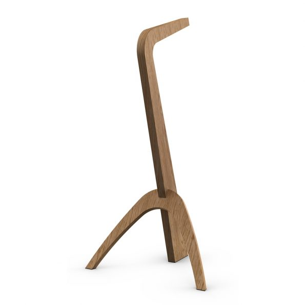 woodLED SLEDGE - exclusive wooden floor lamp with intelligent dimming and CCT regulation