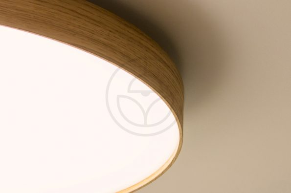 woodLED SOFT 900 is a new hadmade wooden lamp with slim edge | Trilum