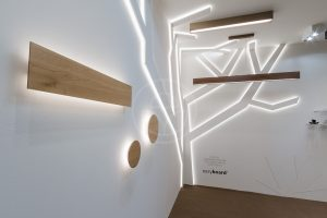 wood led desing