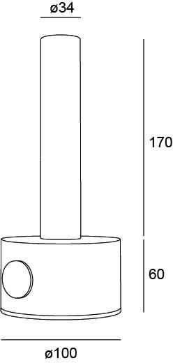 Stolové svietidlo TRILUM DECORATIVE LANTERN Mini