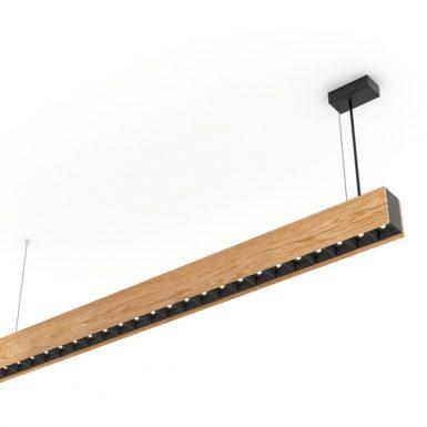 Drevené svietidlo woodLED Linx hang 1200