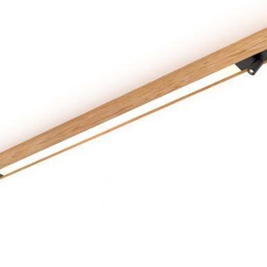 Drevené svietidlo woodLED Linx 1800 General - Spot
