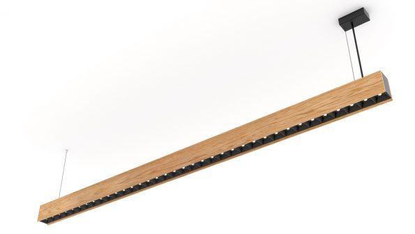 Drevené závesné svietidlo woodLED LINX hang 1800